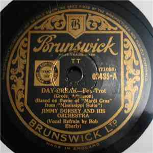 Jimmy Dorsey And His Orchestra - Day-Break / Manhattan Serenade album
